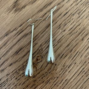 NWOT Stunning Birks Sterling Silver Drop Earrings